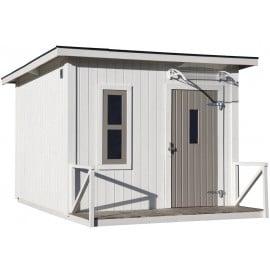 JABO Legehus Estelle 5,1 m² + terrasse 1,5 m²