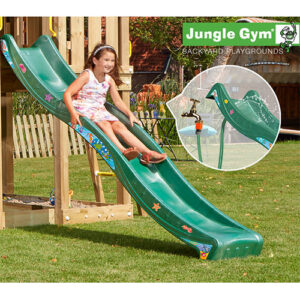 Jungle Gym rutsjebane - 220 cm - Mørkegrøn
