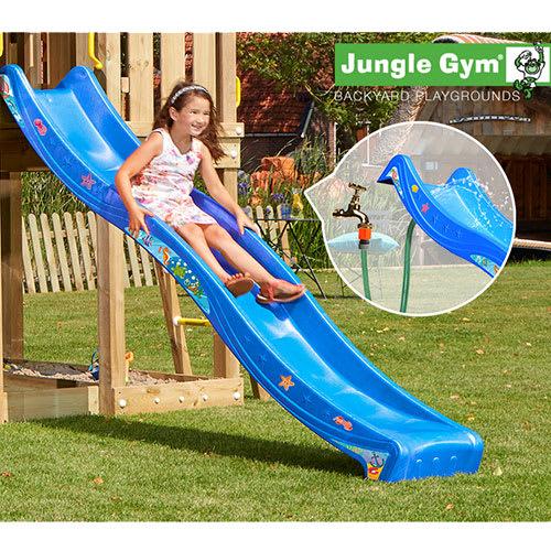 Jungle Gym rutsjebane - 265 cm - Blå