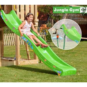 Jungle Gym rutsjebane - 265 cm - Grøn