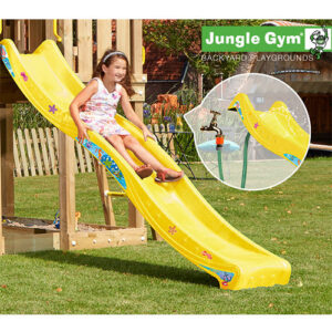 Jungle Gym rutsjebane - 265 cm - Gul