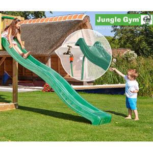 Jungle Gym rutsjebane - 265 cm - Mørkegrøn